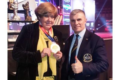 Награждение Елены Константиновны Рябинковой